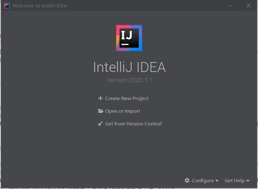 IDEA Create Project
